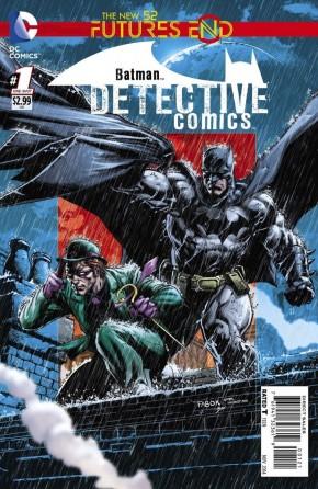 DETECTIVE COMICS FUTURES END #1 STANDARD COVER