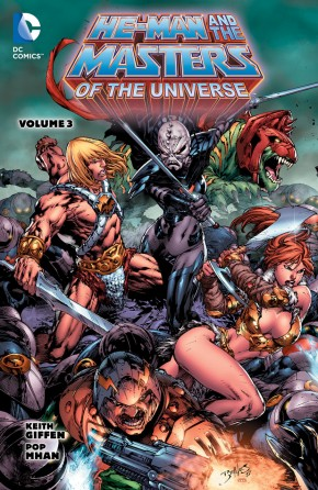 HE-MAN AND THE MASTERS OF THE UNIVERSE VOLUME 3 GRAPHIC NOVEL