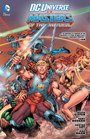 DC UNIVERSE VS THE MASTERS OF THE UNIVERSE GRAPHIC NOVEL
