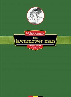 WALTER SIMONSONS LAWNMOWER MAN ARTIST EDITION PORTFOLIO HARDCOVER