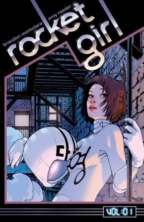 ROCKET GIRL VOLUME 1 TIMES SQUARED GRAPHIC NOVEL
