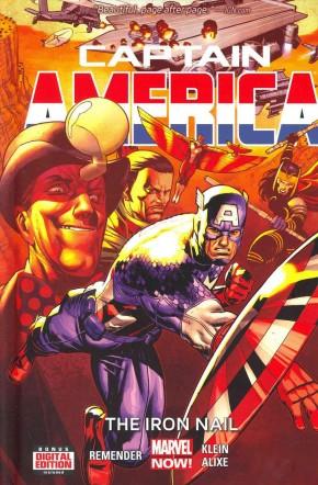 CAPTAIN AMERICA VOLUME 4 IRON NAIL HARDCOVER