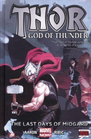 THOR GOD OF THUNDER VOLUME 4 LAST DAYS OF MIDGARD HARDCOVER
