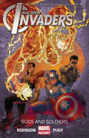 ALL NEW INVADERS VOLUME 1 GODS AND SOLDIERS GRAPHIC NOVEL