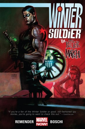 WINTER SOLDIER BITTER MARCH GRAPHIC NOVEL