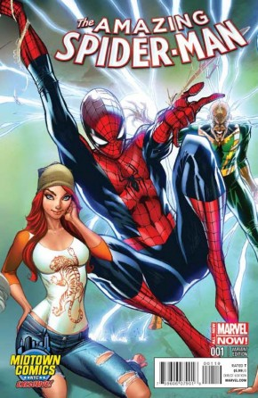 AMAZING SPIDER-MAN #1 (2014 SERIES) MIDTOWN CONNECTING VARIANT