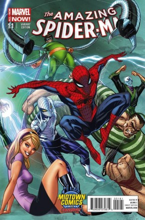AMAZING SPIDER-MAN #1.1 (2014 SERIES) MIDTOWN CONNECTING VARIANT