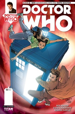 DOCTOR WHO 10TH DOCTOR #2 (2014 SERIES) 1 IN 10 INCENTIVE VARIANT