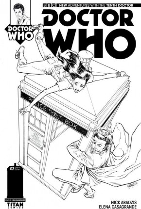 DOCTOR WHO 10TH DOCTOR #2 (2014 SERIES) 1 IN 25 INCENTIVE VARIANT