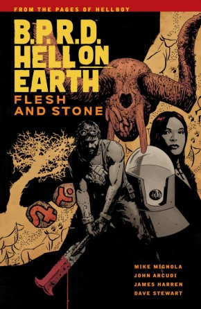 BPRD HELL ON EARTH VOLUME 11 FLESH AND STONE GRAPHIC NOVEL