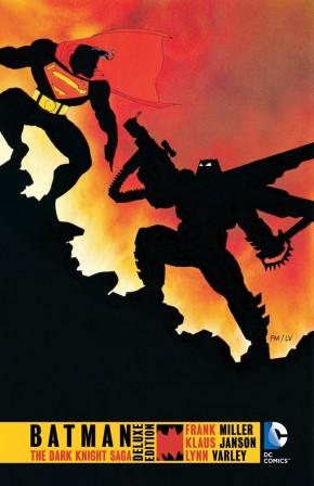 BATMAN THE DARK KNIGHT SAGA HARDCOVER