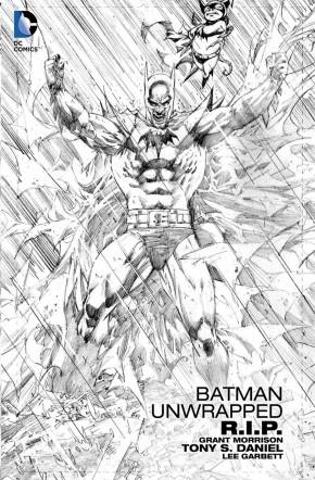 BATMAN RIP UNWRAPPED HARDCOVER