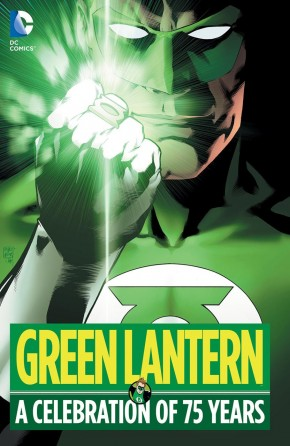 GREEN LANTERN A CELEBRATION OF 75 YEARS HARDCOVER