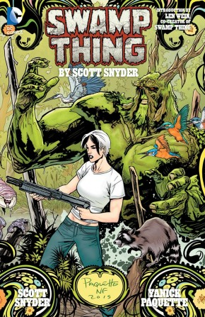 SWAMP THING BY SCOTT SNYDER DELUXE HARDCOVER