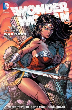 WONDER WOMAN VOLUME 7 WAR TORN HARDCOVER