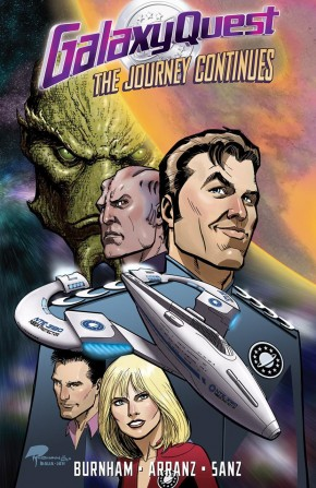 GALAXY QUEST THE JOURNEY CONTINUES GRAPHIC NOVEL