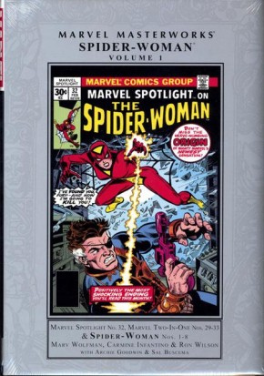 MARVEL MASTERWORKS SPIDER-WOMAN VOLUME 1 HARDCOVER (NEW PRINTING)