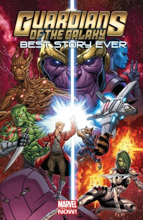GUARDIANS OF THE GALAXY BEST STORY EVER GRAPHIC NOVEL