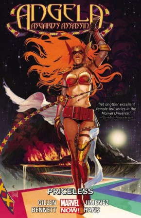 ANGELA ASGARDS ASSASSIN VOLUME 1 PRICELESS GRAPHIC NOVEL
