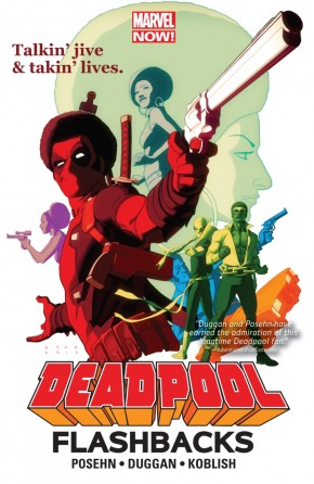 DEADPOOL FLASHBACKS GRAPHIC NOVEL