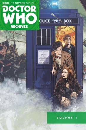 DOCTOR WHO 11TH ARCHIVES OMNIBUS VOLUME 1 GRAPHIC NOVEL