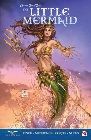 GRIMM FAIRY TALES THE LITTLE MERMAID GRAPHIC NOVEL