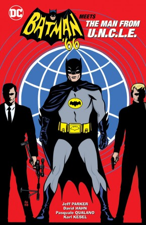 BATMAN 66 MEETS THE MAN FROM UNCLE HARDCOVER