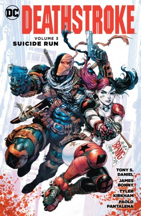 DEATHSTROKE VOLUME 3 SUICIDE RUN GRAPHIC NOVEL
