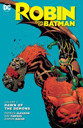 ROBIN SON OF BATMAN VOLUME 2 DAWN OF THE DEMONS HARDCOVER