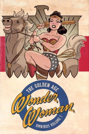 WONDER WOMAN THE GOLDEN AGE OMNIBUS VOLUME 1 HARDCOVER