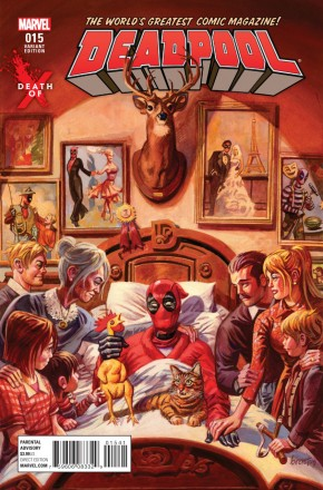 Deadpool Volume 5 #15 (Brereton Death Of X Variant Cover)