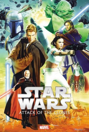 STAR WARS EPISODE II ATTACK OF THE CLONES HARDCOVER