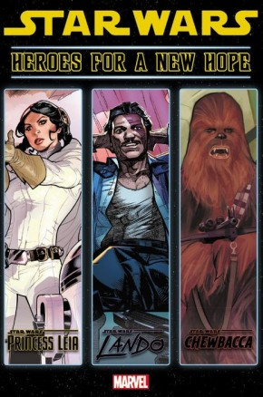 STAR WARS HEROES FOR A NEW HOPE HARDCOVER