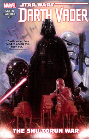 STAR WARS DARTH VADER VOLUME 3 SHU TORUN WAR GRAPHIC NOVEL