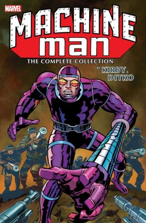 MACHINE MAN BY KIRBY AND DITKO COMPLETE COLLECTION GRAPHIC NOVEL
