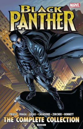 BLACK PANTHER BY PRIEST VOLUME 4 COMPLETE COLLECTION GRAPHIC NOVEL