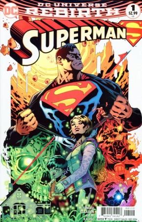 SUPERMAN VOLUME 5 #1 2ND PRINTING