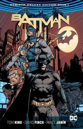 BATMAN REBIRTH DELUXE COLLECTION BOOK 1 HARDCOVER