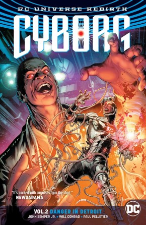 CYBORG VOLUME 2 DANGER IN DETROIT GRAPHIC NOVEL