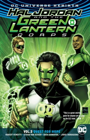 HAL JORDAN AND THE GREEN LANTERN CORPS VOLUME 3 QUEST FOR HOPE GRAPHIC NOVEL