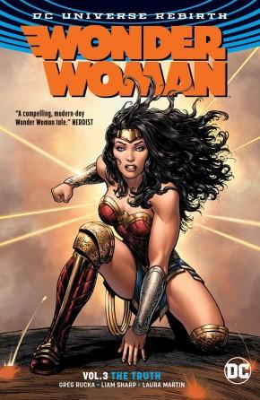 WONDER WOMAN VOLUME 3 THE TRUTH GRAPHIC NOVEL