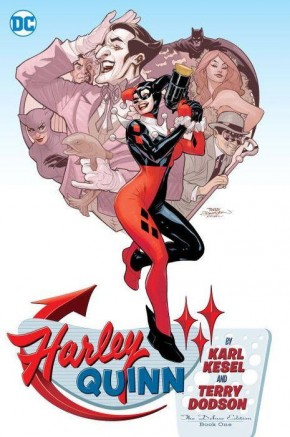 HARLEY QUINN BY KESEL AND DODSON DELUXE EDITION VOLUME 1 HARDCOVER