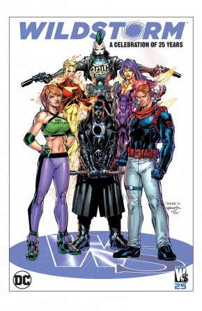 WILDSTORM A CELEBRATION OF 25 YEARS HARDCOVER