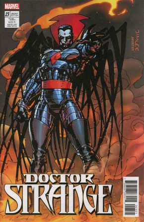 DOCTOR STRANGE #23 (2015 SERIES) X-MEN CARD VARIANT COVER