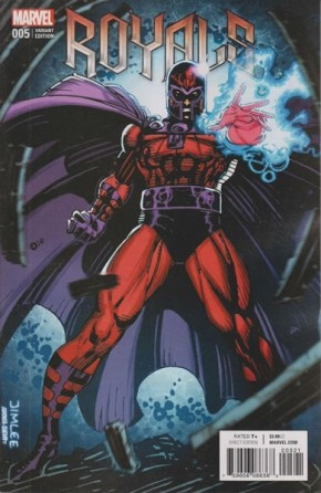 ROYALS #5 (2017 SERIES) X-MEN CARD VARIANT COVER