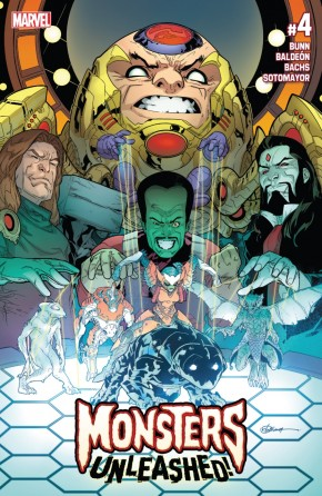 MONSTERS UNLEASHED #4 (2017 SERIES)