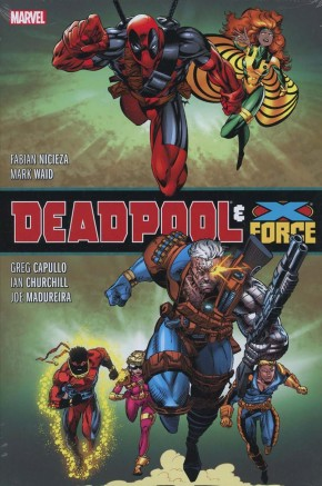 DEADPOOL AND X-FORCE OMNIBUS HARDCOVER