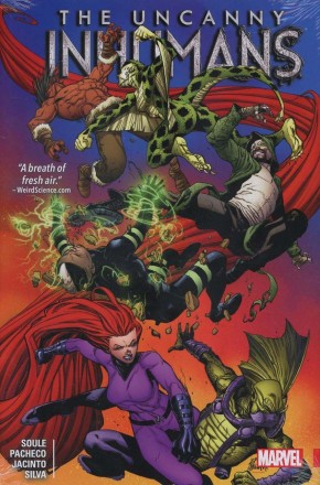 UNCANNY INHUMANS VOLUME 2 HARDCOVER