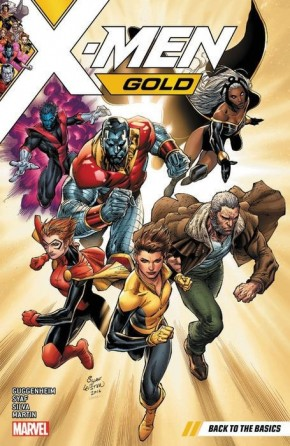 X-MEN GOLD VOLUME 1 BACK TO BASICS GRAPHIC NOVEL