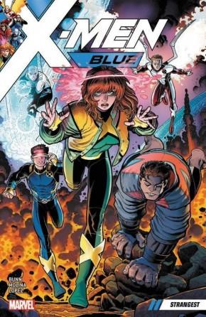 X-MEN BLUE VOLUME 1 STRANGEST GRAPHIC NOVEL